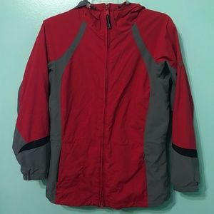 Columbia Sport Hooded Spell Out Jacket B16